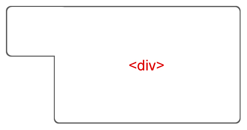 How to shape div tag in a following shape see image - Tag div html ...