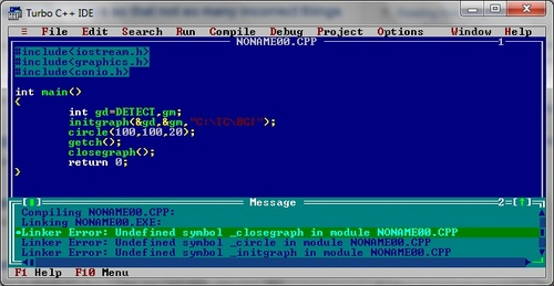 Turbo c c c Online compiler turbo c