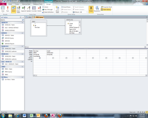 Print A Report From A Pivot Table In Access 2010