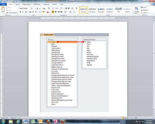 Table Relationships for a Newbie! - Microsoft Access / VBA