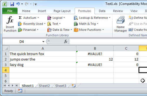 How to use the CLEAN FIND and ISERROR Worksheet Functions in – Worksheet Function Vba