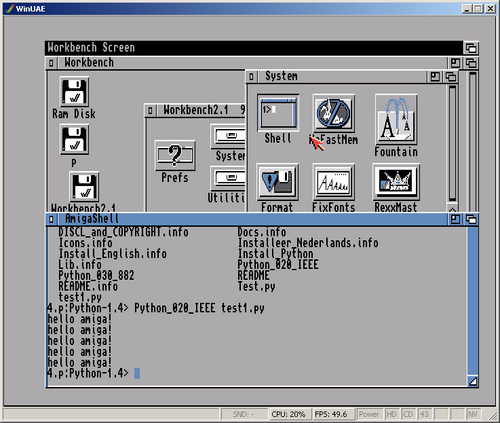 How to Run Python on the Commodore Amiga - Python