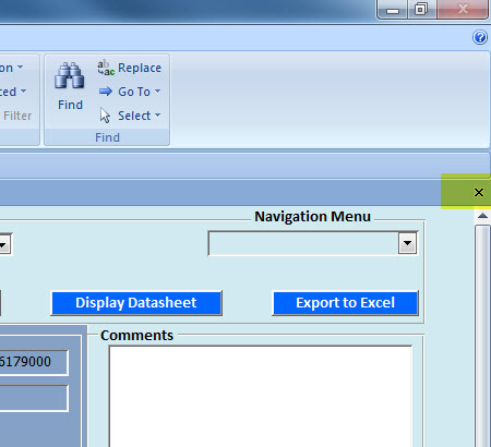 Hide/Unhide Close Form Button (NOT the Close MS Access Button ...
