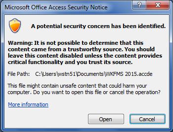 VBA code disabled in ACCDE format - Microsoft Access / VBA