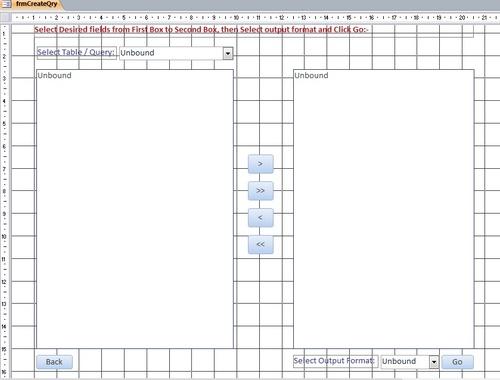 Create sql query using listbox items - Microsoft Access / VBA