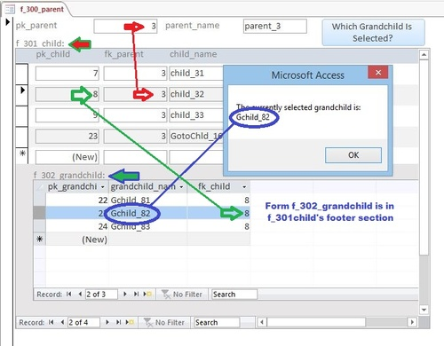 Filtering a report from a sub form - Microsoft Access / VBA