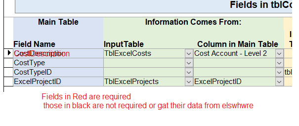How to indicate a field is required - Microsoft Access / VBA